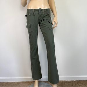 Tyte Green Army Cargo Pants Size 1